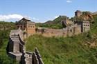 Удивительный состав блоков Великой Китайской стены.