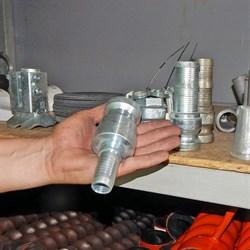 соединение камлок dy 25 для штукатурных рукавов
