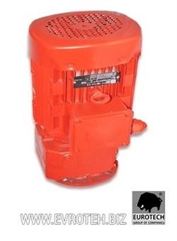Мотор редуктора штукатурной станции 380 V, 5.5 kW, 368об/мин.