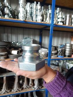 Соединение Camlock 50 мм, литое папа с резьбой. - фото 6820
