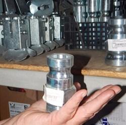 Переходник соединительный 25 мм внешний папа  с внешней резьбой - фото 6875