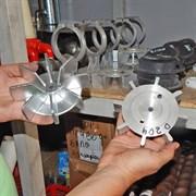Крыльчатка компрессора штукотурной станции