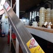 Правило ЗУБР МАСТЕР 2 м, алюминиевое, профиль ДВУХВАТ с ребром жесткости