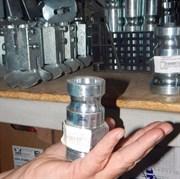 Переходник соединительный 25 мм внешний папа  с внешней резьбой