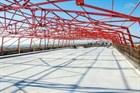 Первая плита проезжей части уложена на Крымском мосту