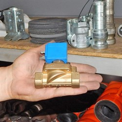 Клапан элетромагнитный для штукатурной станции - фото 4880