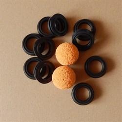 Комплект GEKA уплотнений с промывочными шарами для штукатурной станции - фото 6744