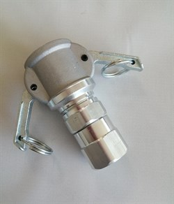 Соединение Camlock 25  мм литое (мама) вращающееся в сборе - фото 7298