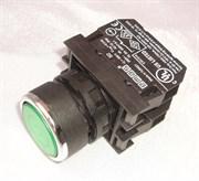 Кнопка зеленая с подсветкой