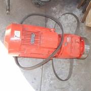 Мотор редуктора штукатурной станции 380 V, 7.5 kW, 200 об/мин.