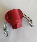 Соединение Camlock 25 мм с резьбой мама / пластик/